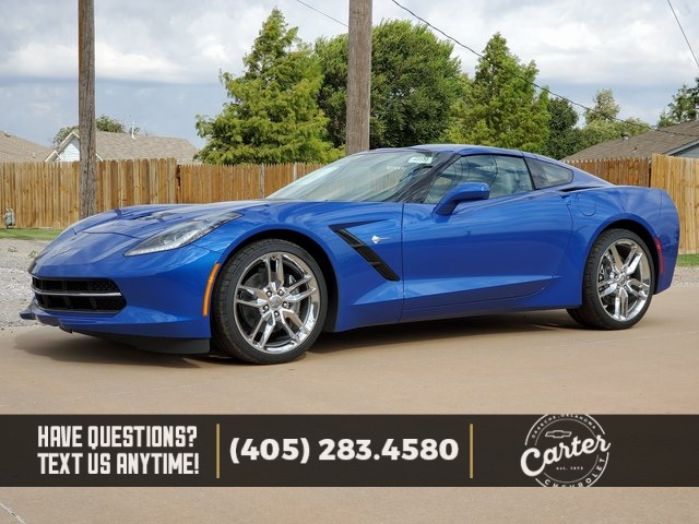 New 2019 Chevrolet Corvette Stingray Rwd 2d Coupe