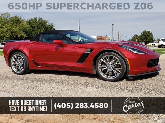 Pre Owned 2015 Chevrolet Corvette Z06 2d Convertible In Okarche