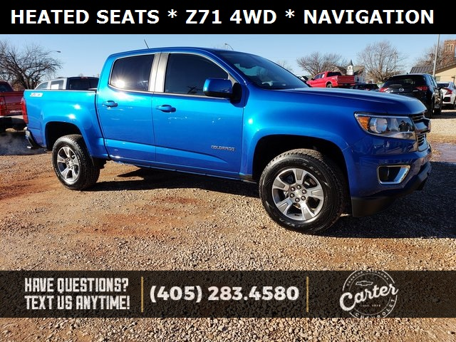 Pre Owned 2018 Chevrolet Colorado Z71 4d Crew Cab In Okarche K3280