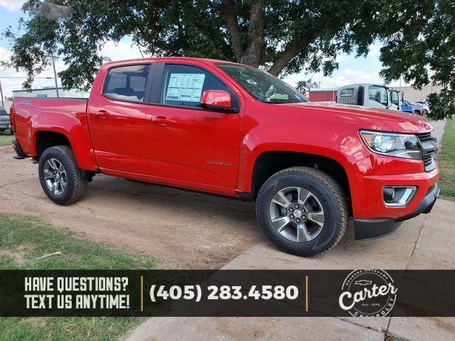 New 2019 Chevrolet Colorado Z71 4d Crew Cab In Okarche 21486