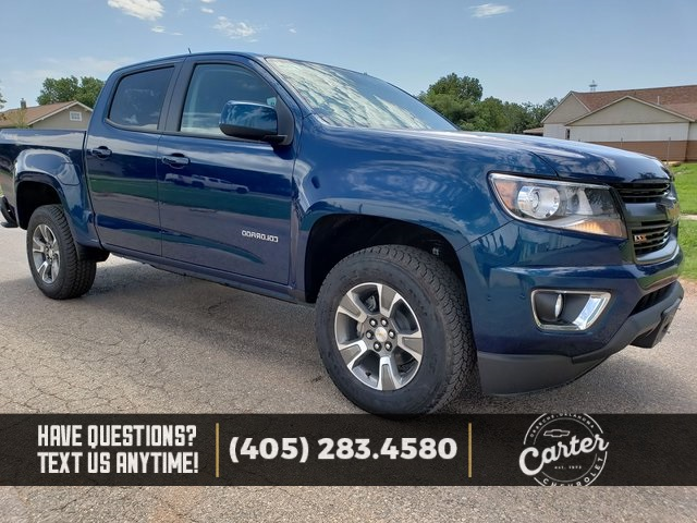 New 2019 Chevrolet Colorado Ctp Out 4d Crew Cab In Okarche 21392