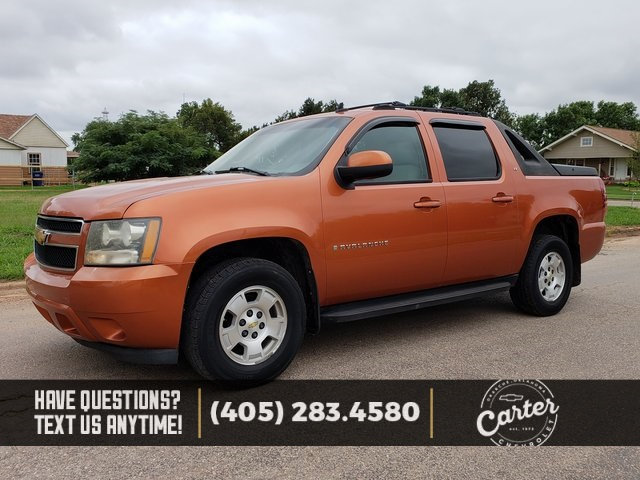 pre owned 2007 chevrolet avalanche 1500 lt 4d crew cab in okarche rh carterchevroletok com