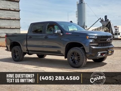 New 2019 Chevrolet Silverado 1500 TRAIL BOSS